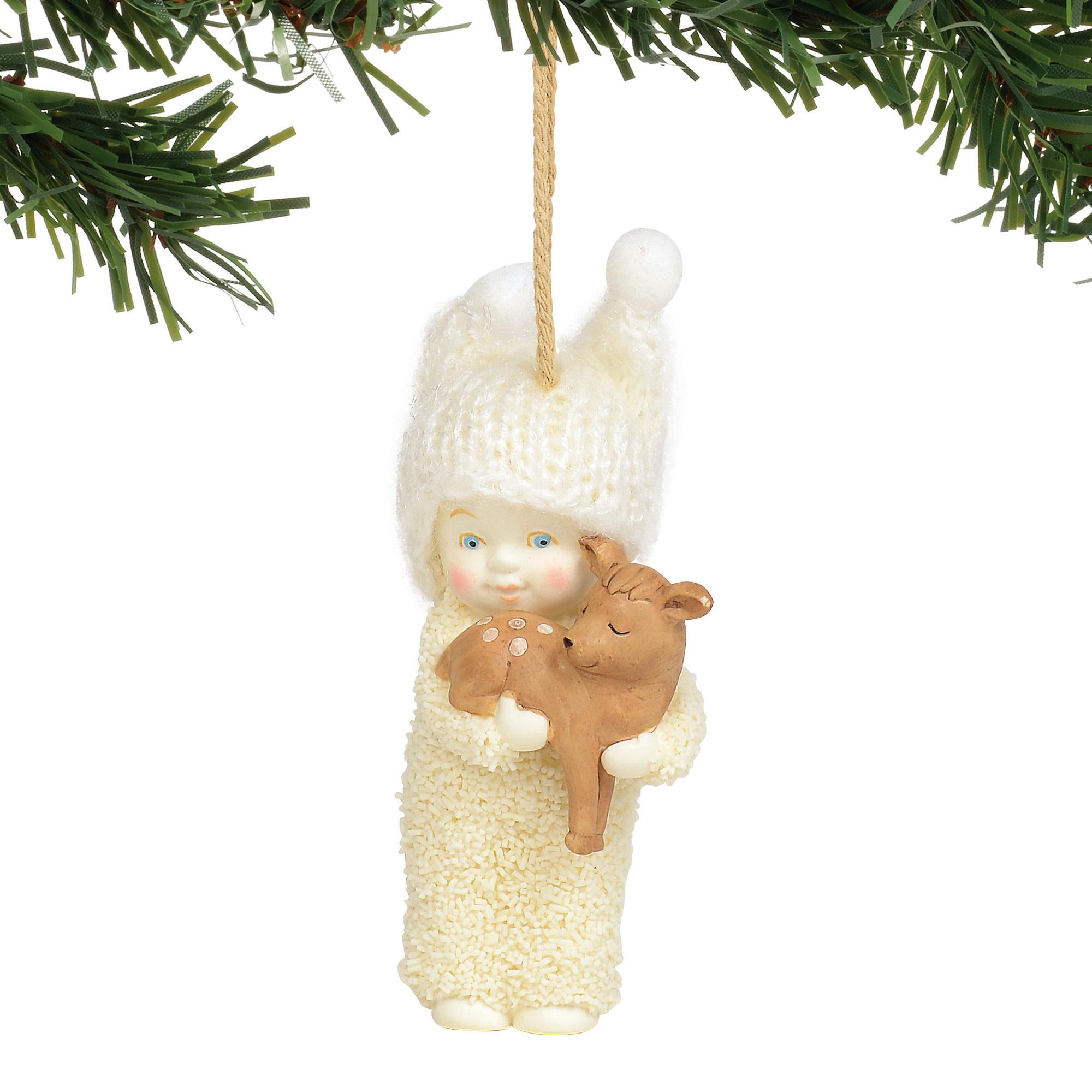 Snowbabies Peaceful Kingdom Deer Ornament