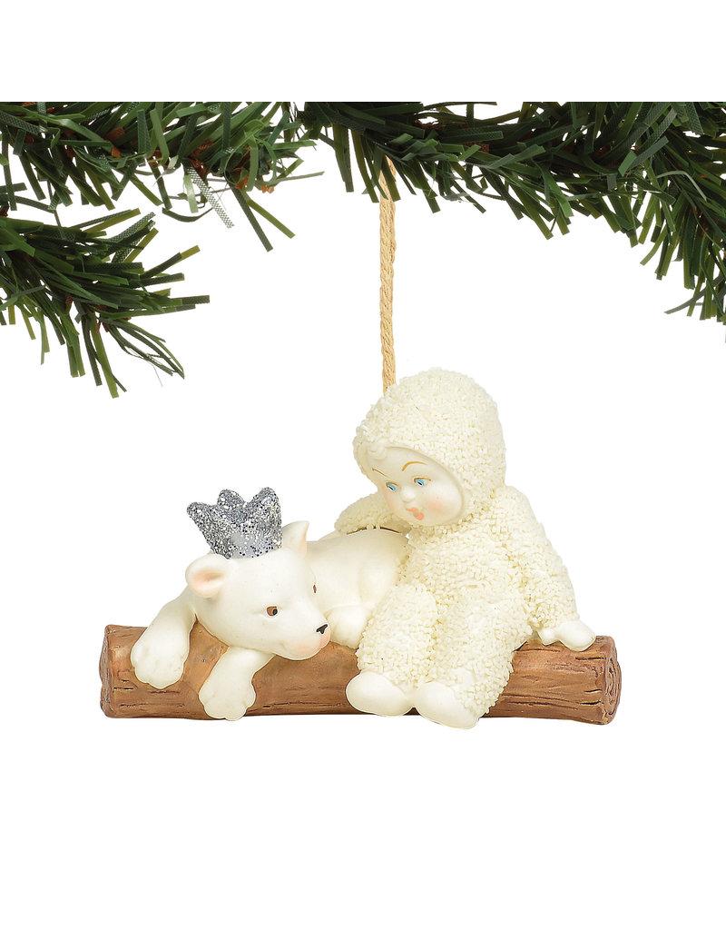 Snowbabies Peaceful Kingdom Lion Ornament