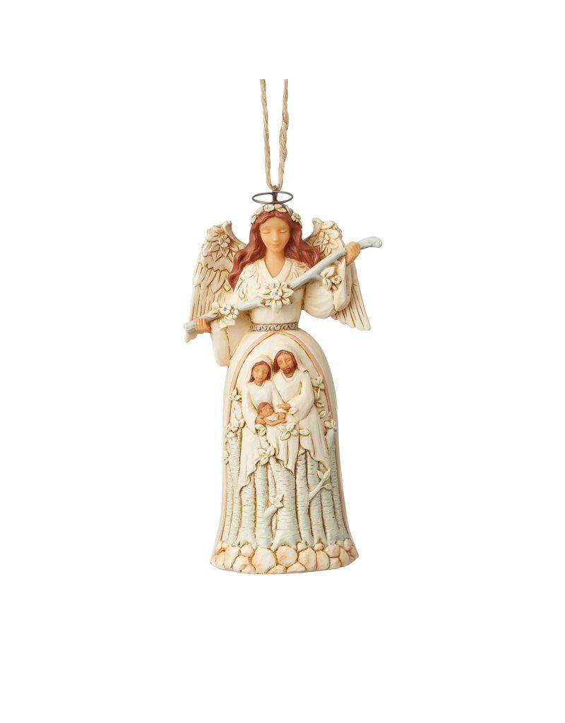 Jim Shore Woodland Nativity Angel Ornament