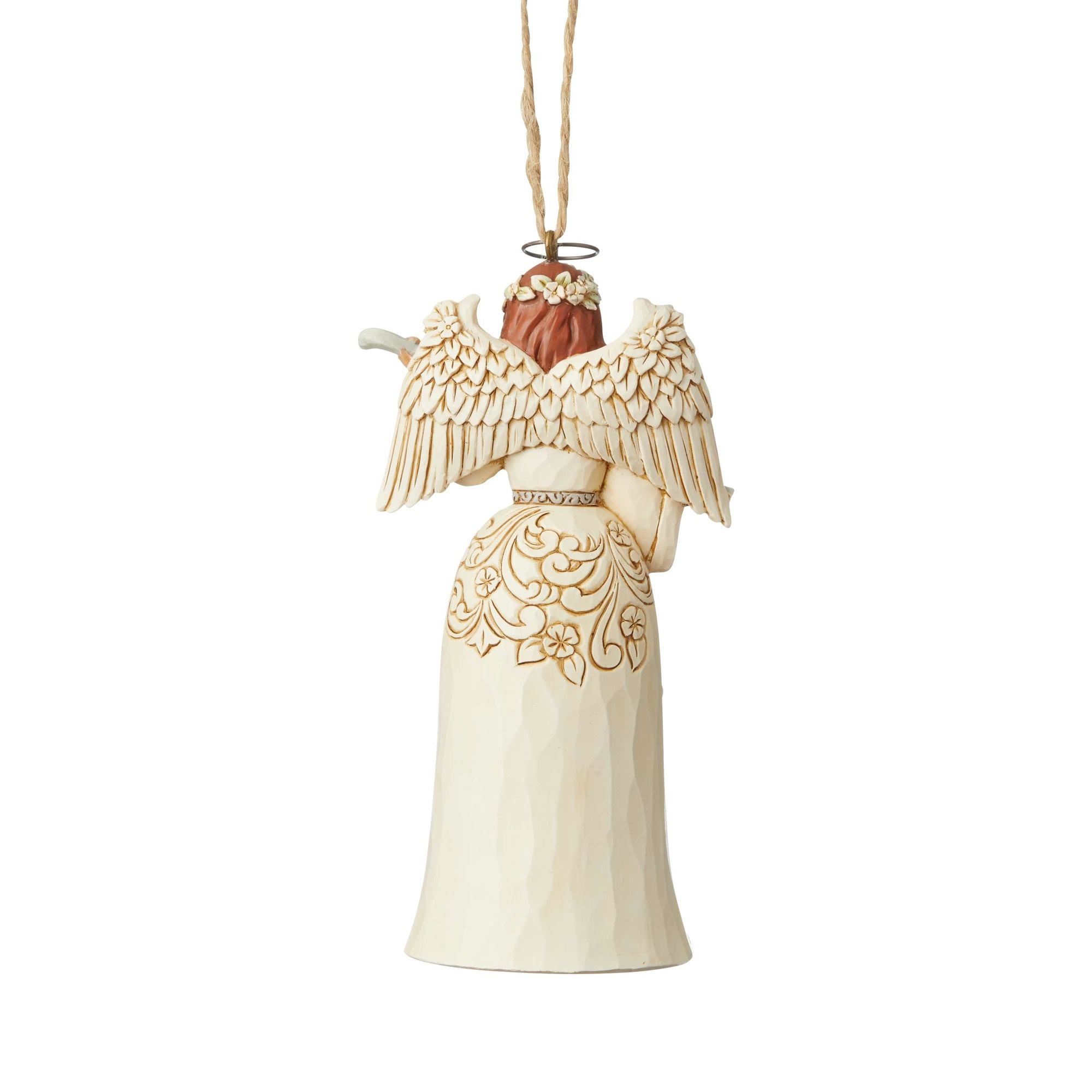 Jim Shore Woodland Nativity Angel Ornament