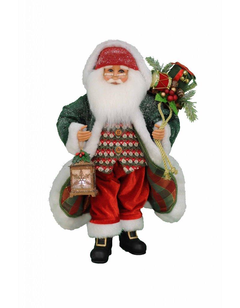 Karen Didion Karen Didion Lighted Snowy Stroll Santa