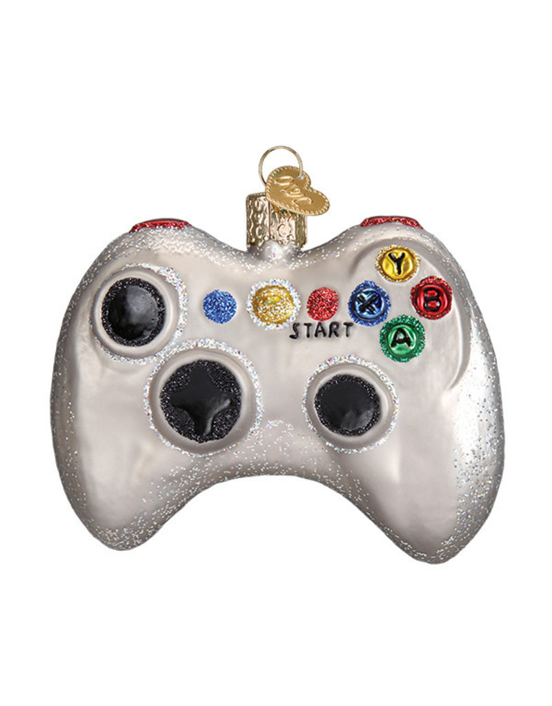 Old World Christmas Video Game Controller