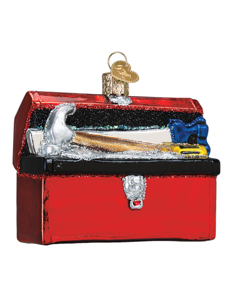Old World Christmas Toolbox