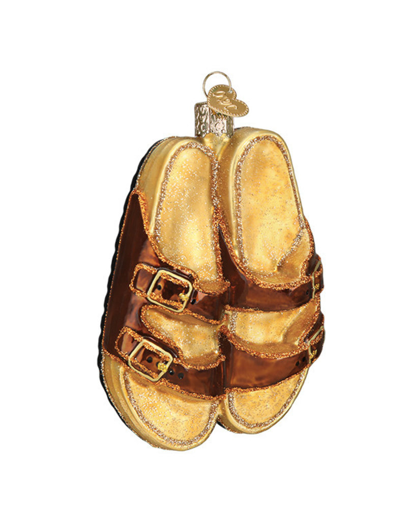 Old World Christmas Sandals