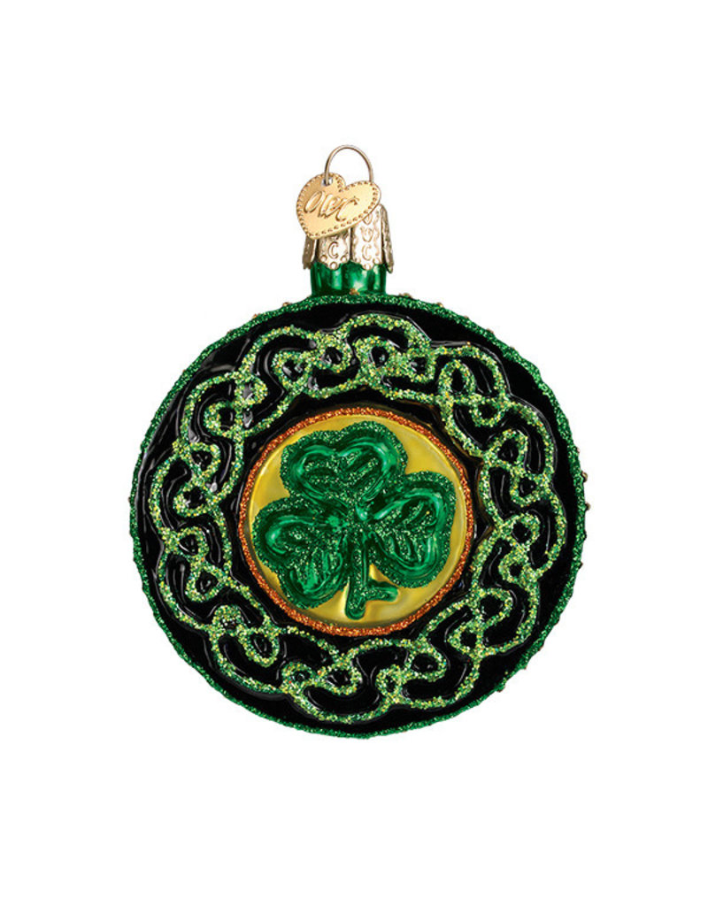 Old World Christmas Celtic Brooch