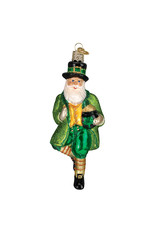 Old World Christmas Irish Santa