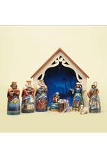 Jim Shore Away in a Manger  Mini Nativity
