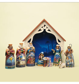 Jim Shore Away in a Manger  Mini Nativity