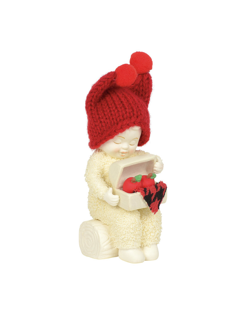 Snowbabies Apple Polisher