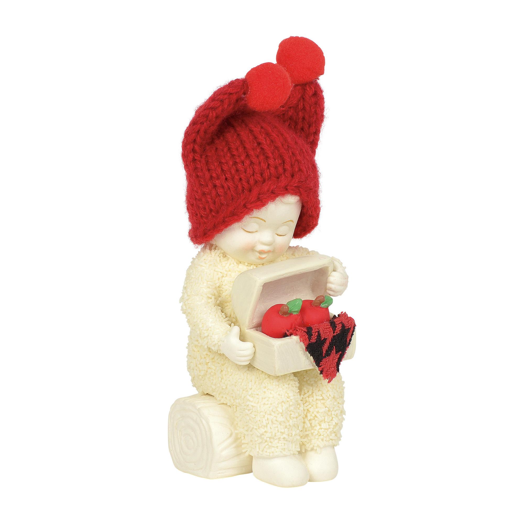 Snowbabies Apple Polisher