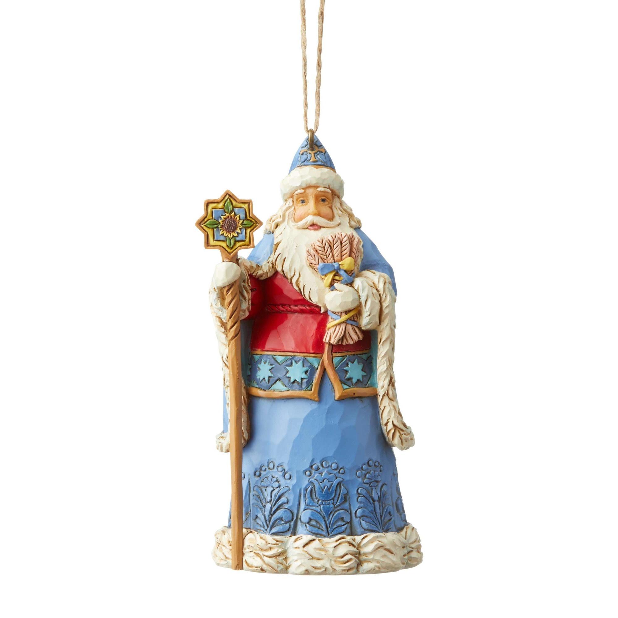 Jim Shore Ukranian Santa Ornament