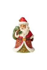 Jim Shore Be True & Believe Santa