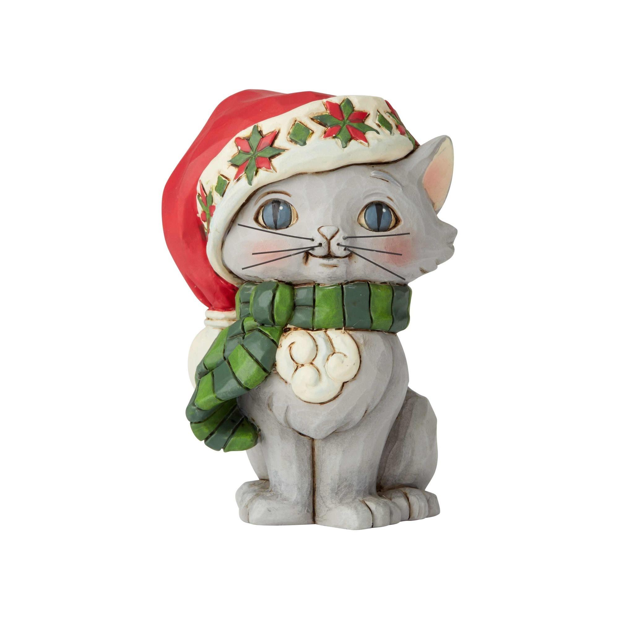 Jim Shore Mini Christmas Kitten