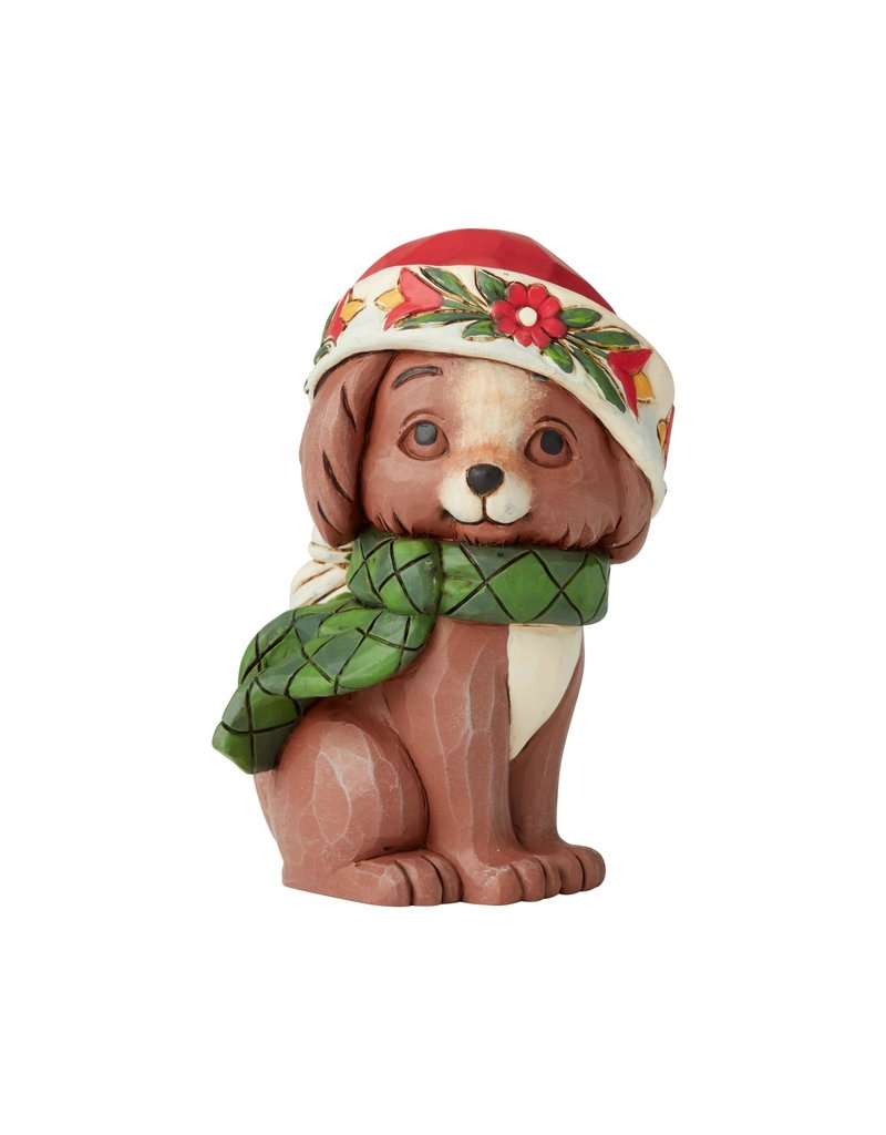 Jim Shore Mini Christmas Puppy
