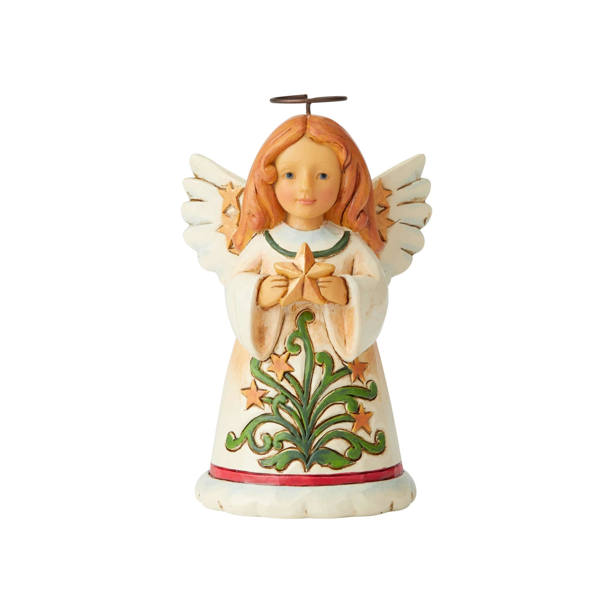 Jim Shore Mini Angel with Star