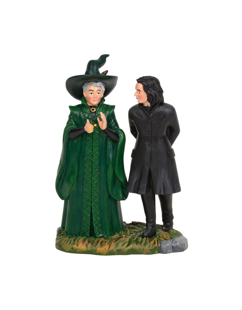Snape and McGonagall for Harry Potter Village