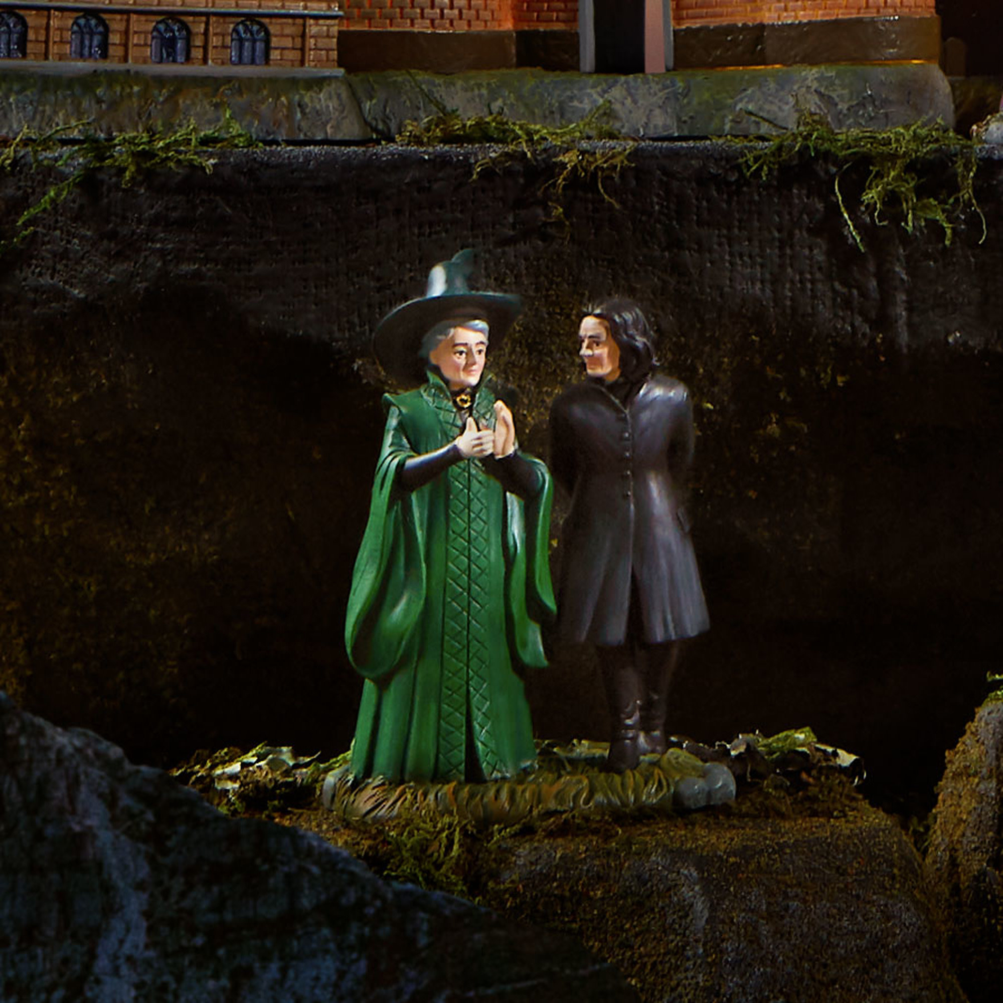 Department 56 Harry Potter Village Snape and McGonagall