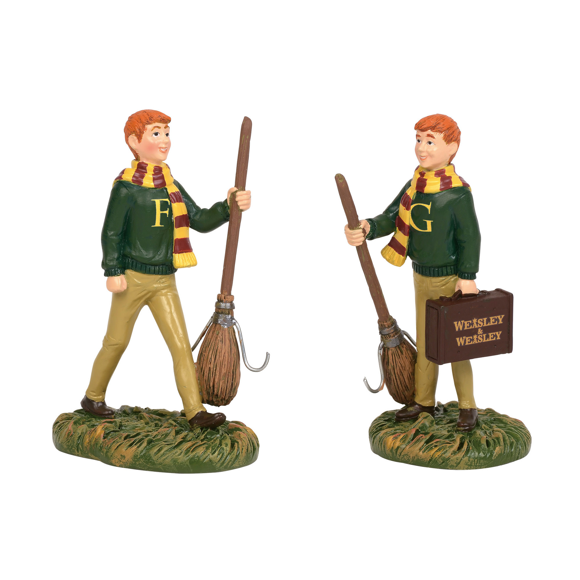 Department 56 Harry Potter Village Fred & George Weasley