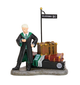 Draco Waits at Platform 9 3/4 for Harry Potter Village