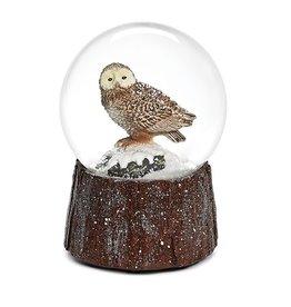Snowy Owl Snowglobe