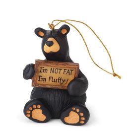 Bearfoots I'm Fluffy Orn