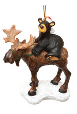 Bearfoots Bear Riding Moose
