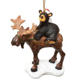 Bearfoots Bear Riding Moose