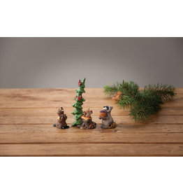 Big Sky Carvers Forest Nativity Gift Bearers S/3