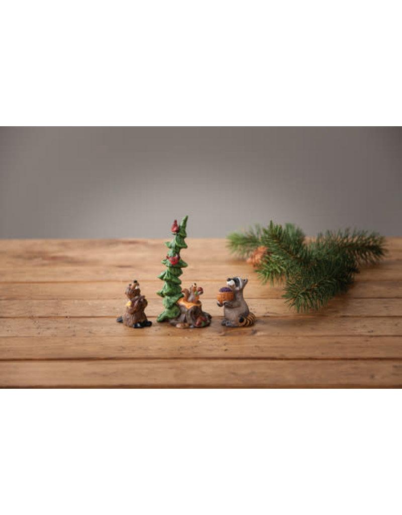Big Sky Carvers Forest Nativity Gift Bearers S/3