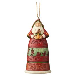Jim Shore 12 Days of Christmas Santa Ornament
