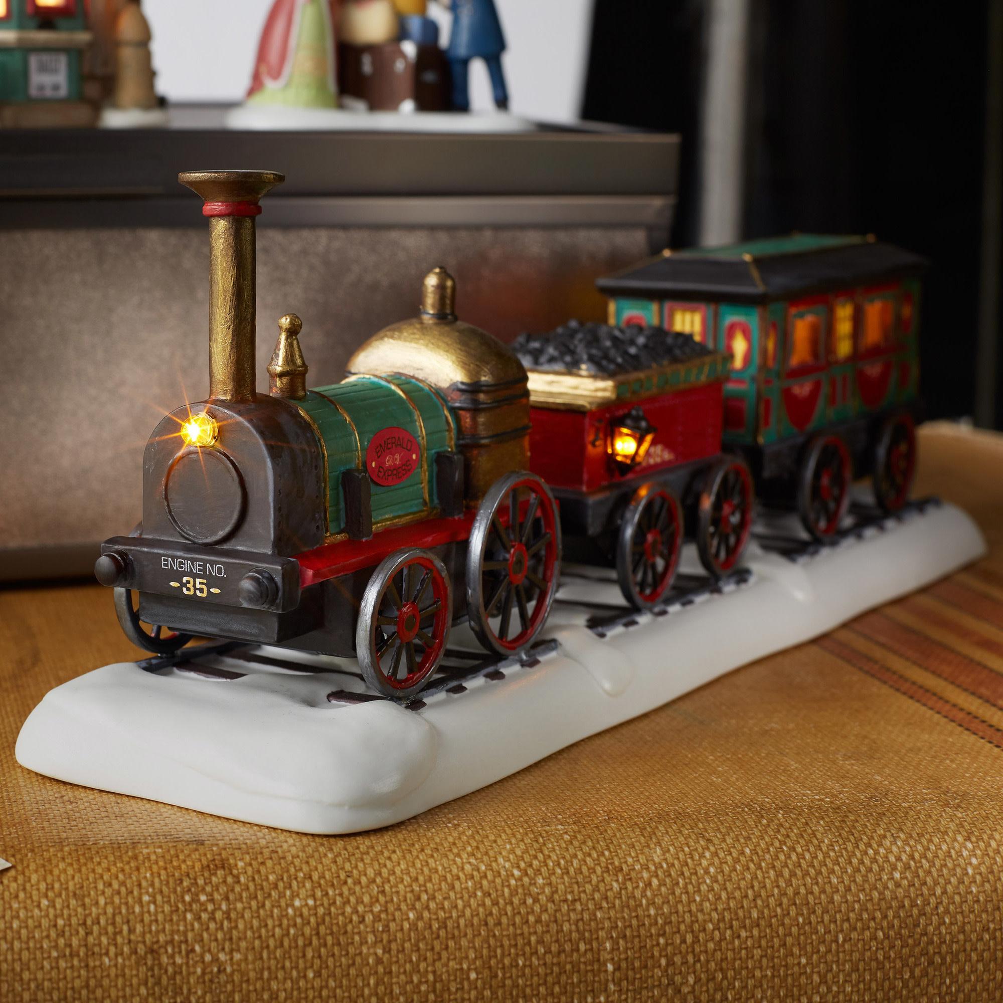 Dickens Village The Emerald Express Train