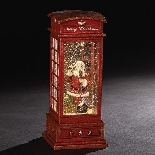 Merry Christmas Phone Booth