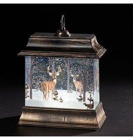 Snowy Deer Lantern
