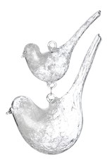 Two Crystal Birds Ornament
