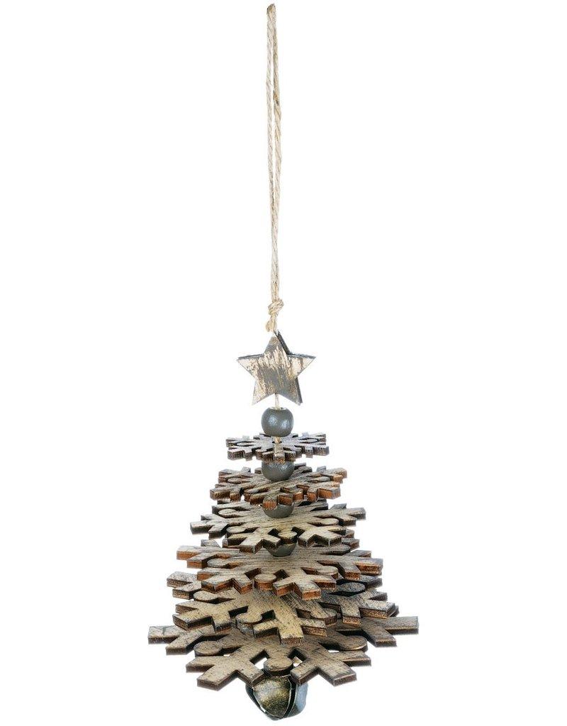 Small Snowflake Tree Ornament