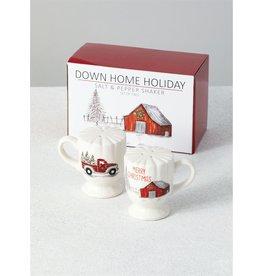 Down Home Salt & Pepper Shaker Set