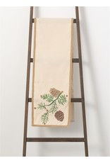 Pinecone Table Runner