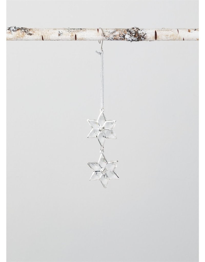 Acrylic Dangle Snowflake