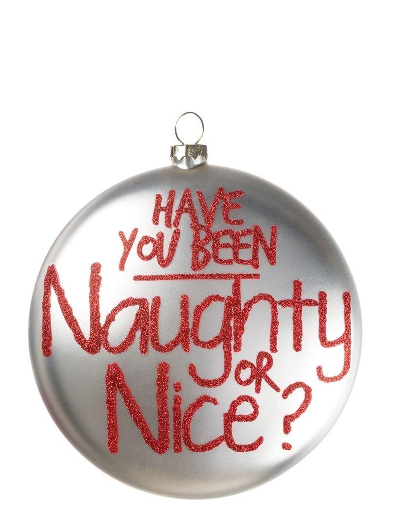 Naughty or Nice Santa Disc