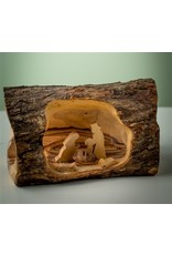 Small Log Nativity