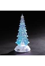 LED Tricolor Swirl Glitter Tree