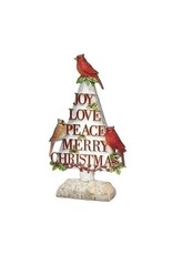 Christmas Cardinal Tree