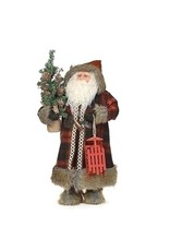 Woodland Santa with Sled