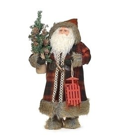 Woodland Santa with Sled