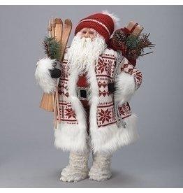 Nordic Ski Santa