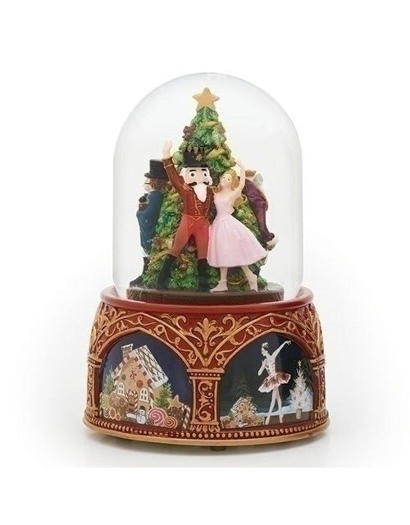 Musical Clara with Nutcracker Globe