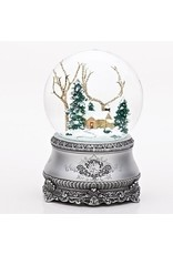 Cottage Musical Snowglobe