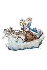 Northern Ice Santa in Sleigh