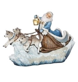 Northern Ice Santa in Sleigh
