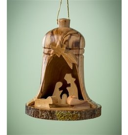 Small Bark Bell Nativity